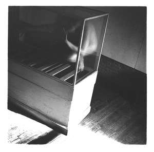 From Space2, Providence, Rhode Island by Francesca Woodman contemporary artwork