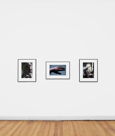 Exhibition View: Moryra Davey & Peter Hujar, Galerie Buchholz, Berlin (17 February–11 April 2020).Courtesy Galerie Buchholz Berlin/Cologne/New York.