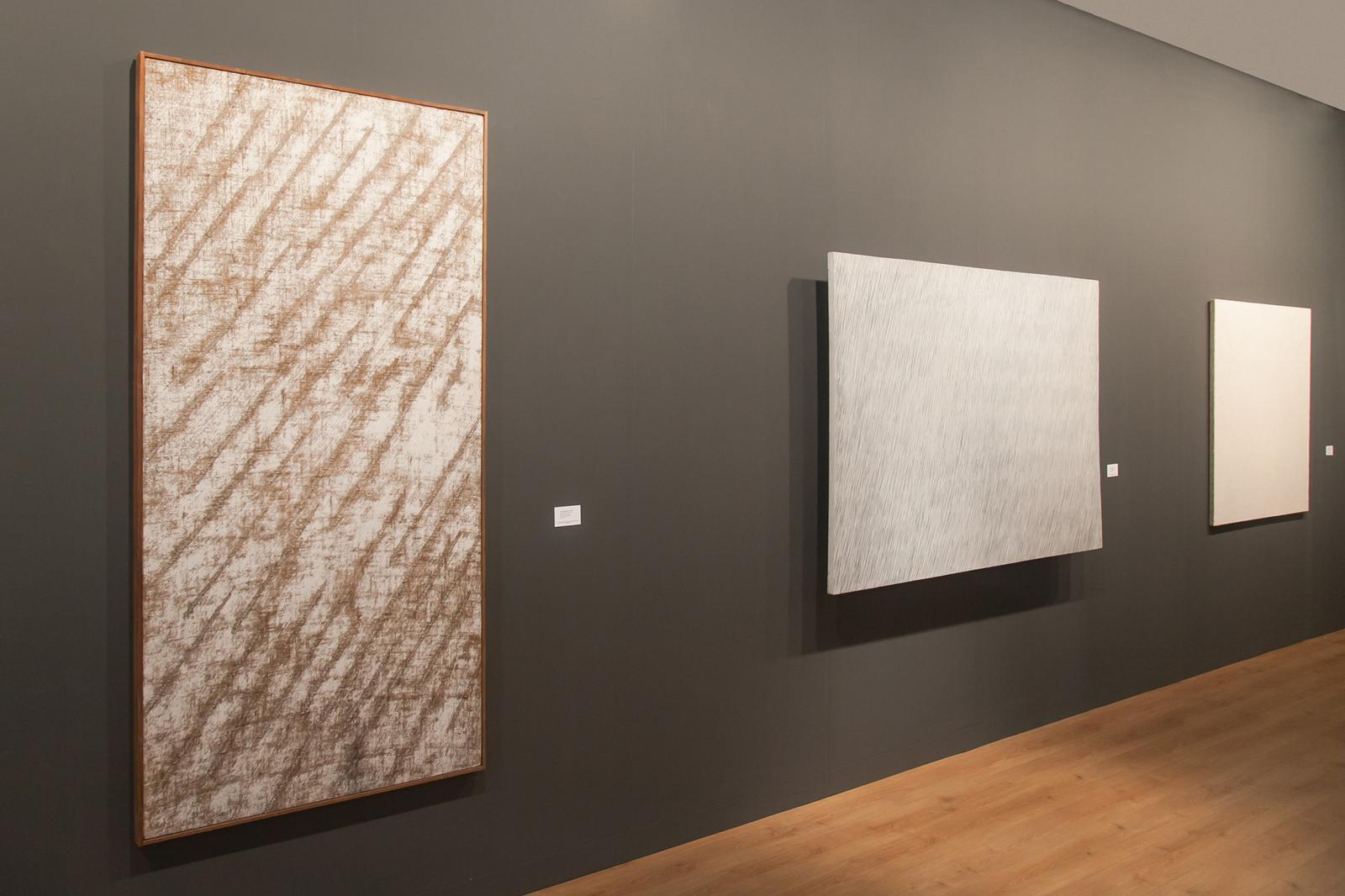 Image: Exhibition view, Tina Kim and Kukje Gallery at Art Basel 2016. Photo: © Timothée Chambovet & Ocula.