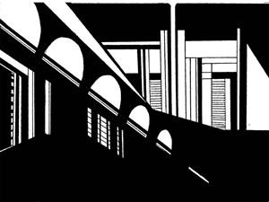 Non-Architectural Renderings 23 by Heba Y. Amin contemporary artwork