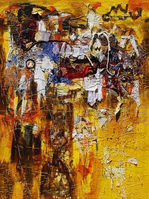 Moksa by Gatot Pujiarto contemporary artwork