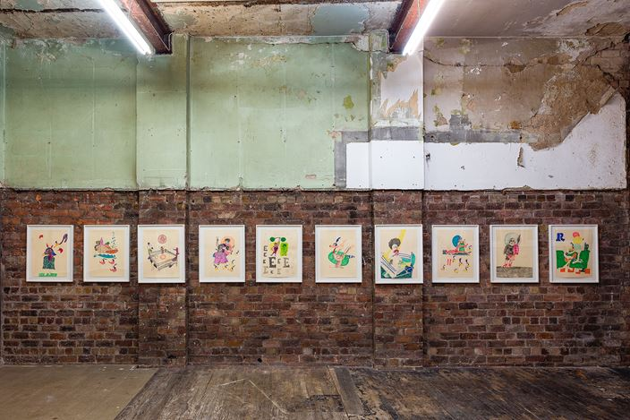 Exhibition view: Walter Price,Pearl Lines, The Modern Institute, Bricks Space, Glasgow (13 November 2020–16 January 2021). Courtesy the Artist and The Modern Institute/Toby Webster Ltd, Glasgow.Photo: Patrick Jameson.