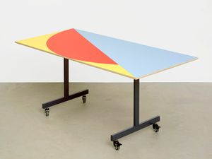 Conference table #9 by Amalia Pica contemporary artwork