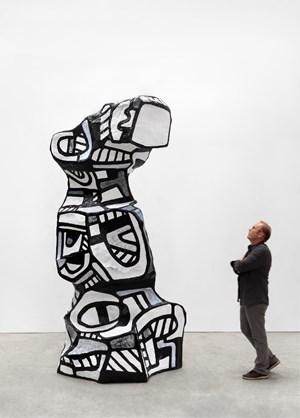 Chien de guet 1 by Jean Dubuffet contemporary artwork