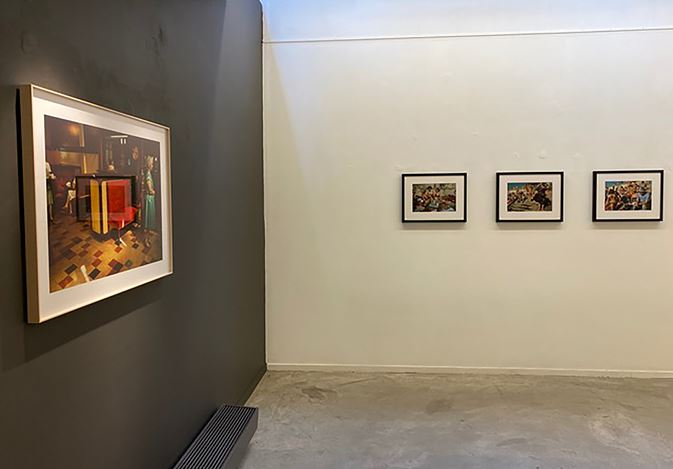 Exhibition view: Harry Gruyaert,Irish Summers, Gallery FIFTY ONE, Antwerp (8 September–31 October 2020). Courtesy Gallery FIFTY ONE.