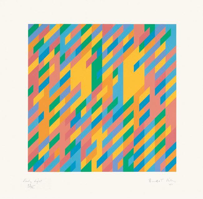 Early Light by Bridget Riley contemporary artwork