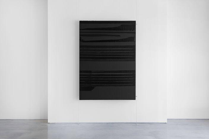 Exhibition view: Pierre Soulages, Twenty Twenty-One, Lévy Gorvy, Palm Beach (10 April–2 May 2021). Courtesy Lévy Gorvy. Photo: Diego Texera.