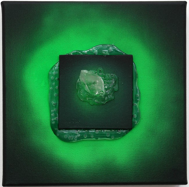 Green gaze 4 by Judy Darragh contemporary artwork