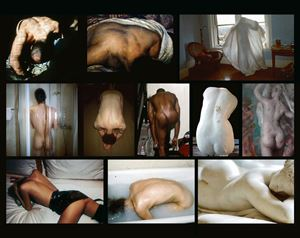 The Back by Nan Goldin contemporary artwork