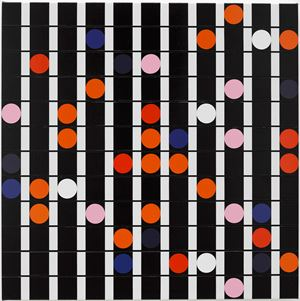 Deviancy is the Essence of Culture [Sound Graph] by Sarah Morris contemporary artwork