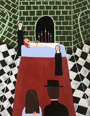 The Tomb/Charon's Obol by Justin Hinder contemporary artwork