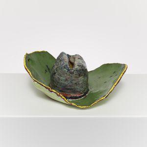 Sombrero Ceramic Green by Ken Taylor contemporary artwork