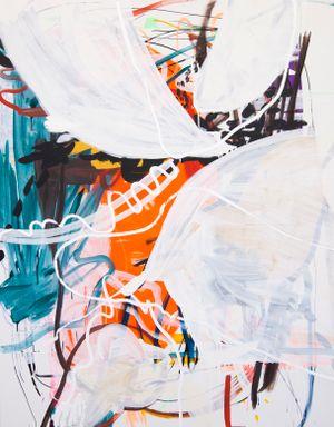 White Waves by Wang Xiyao contemporary artwork