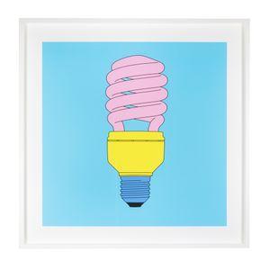 Lightbulb by Michael Craig-Martin contemporary artwork