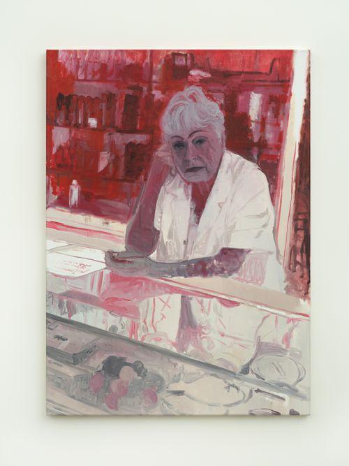 Señora en el mostrador by Valentina Liernur contemporary artwork