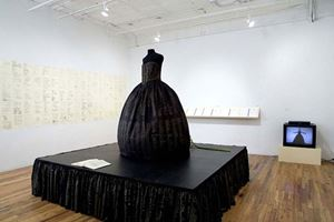 Patina du Prey's Memorial Dress a retrospective by Hunter Reynolds contemporary artwork