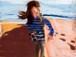 Esme in St Leonards by Chantal Joffe contemporary artwork