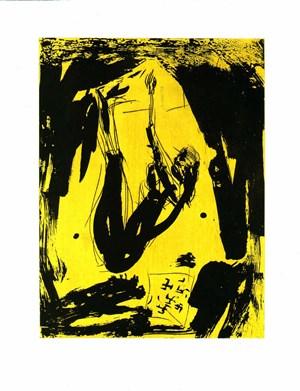 Die Aehrenleserin (from Remix) by Georg Baselitz contemporary artwork