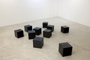 Heads [Cabeças] by Antonio Dias contemporary artwork