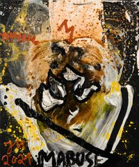 LAKRITZ LOLLY POLLY (TRAUMBAR) by Jonathan Meese contemporary artwork painting, works on paper