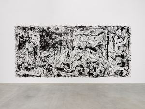 Picasso's Guernica (in the Style of Jackson Pollock, Essay II) by Art & Language contemporary artwork