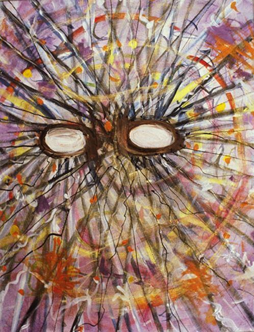 Event Mental by Jutta Koether contemporary artwork