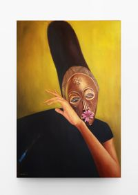 Songs of Asase Yaa 1 by Mfundo Mthiyane contemporary artwork painting
