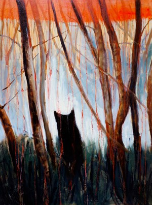 Coming? Going? Who Knows by Bree Jonson contemporary artwork