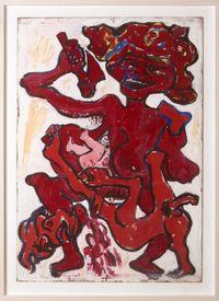 KAMPF DER GESCHLECHTER (12 Aktionen) by Otto Muehl contemporary artwork painting