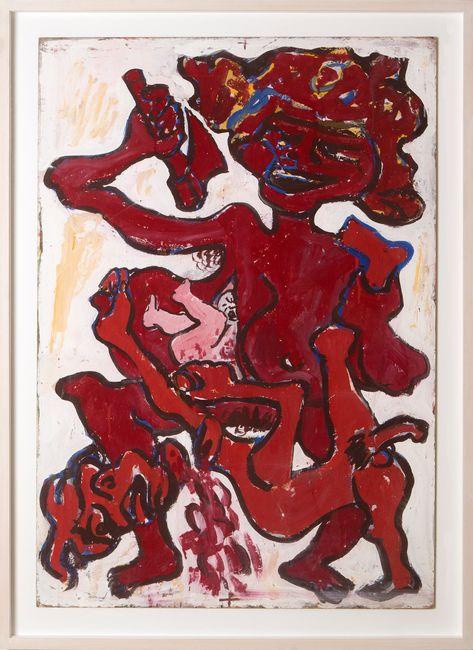 """""""KAMPF DER GESCHLECHTER"""" (12 Aktionen) by Otto Muehl contemporary artwork"""