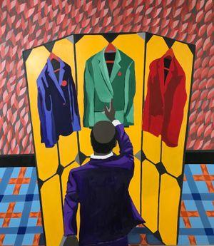 Reshuffle by Tafadzwa Adolf Tega contemporary artwork