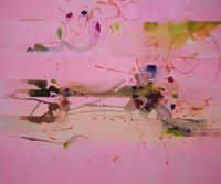 oysters for boys by Rebekka Steiger contemporary artwork painting, works on paper, drawing