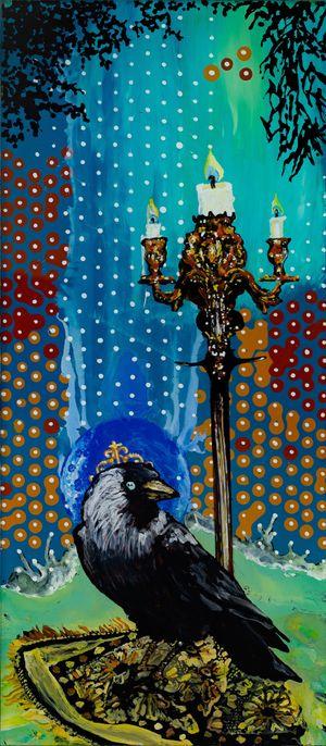 Kronzeuge by Wolf Hamm contemporary artwork