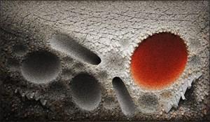 Aggregation 10 - JL020 Red by Chun Kwang Young contemporary artwork