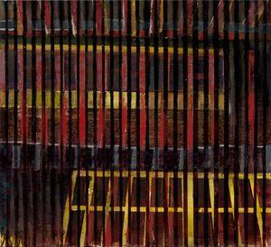 中國建築系列-欄 Chinese Architecture Series-Door Panes by Wei-Jane Chir contemporary artwork