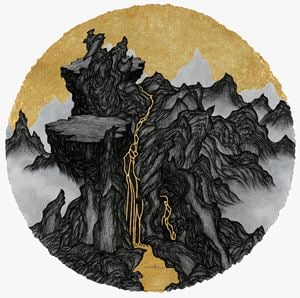 Cliffs & Gully : Savage Valley by Yao Jui-chung contemporary artwork