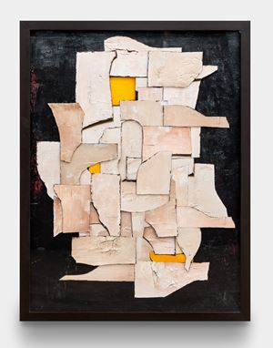 Surfaces: In Pieces, after Conrad Marca-Relli by Vik Muniz contemporary artwork