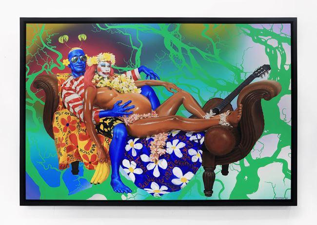 Pregnant Woman by Ashley Bickerton contemporary artwork