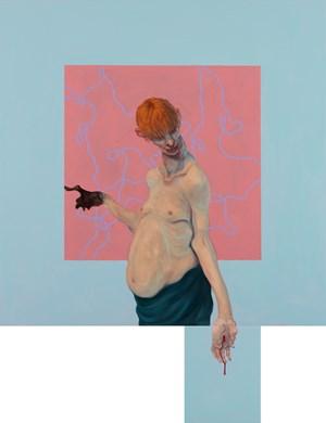 Culture Freak by Michael Kvium contemporary artwork