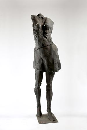 Woman with Belt by Liang-Tsai Lin contemporary artwork
