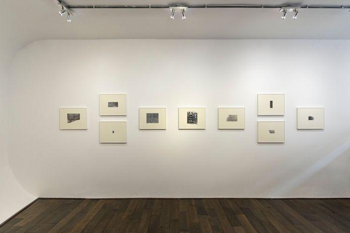 Exhibition view:llyson Strafella and Nick Terry, Intervention, Bartha Contemporary, London (2–15 September 2021). Courtesy Bartha Contemporary.