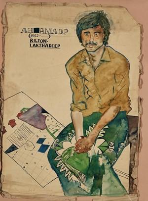 Ahamad. P by Jyothi Basu contemporary artwork