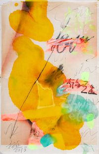 HO by Yang Shu contemporary artwork works on paper