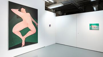 Contemporary art exhibition, Sofia Mitsola, Banistiri at Pilar Corrias, Eastcastle Street, London