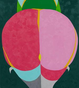 Pink Moon by Helen Beard contemporary artwork