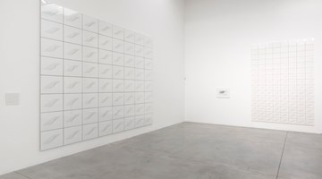 Contemporary art exhibition, Channa Horwitz, Rules of the Game at Lisson Gallery, Bell Street, London