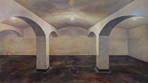 Concentration Camp - Basement 集中營-地下室 by Lu Liang contemporary artwork