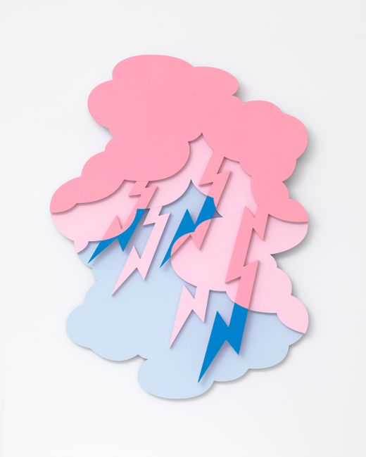 Descending Painting by Noritaka Tatehana contemporary artwork