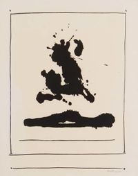 Untitled by Robert Motherwell contemporary artwork painting, print
