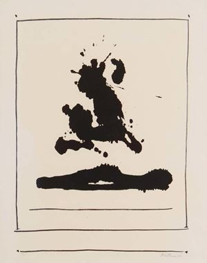Untitled by Robert Motherwell contemporary artwork